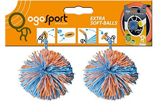 OGO Sport Ersatzbälle 2er Set Bälle Kinder Outdoor Funsports Zubehör Tennis