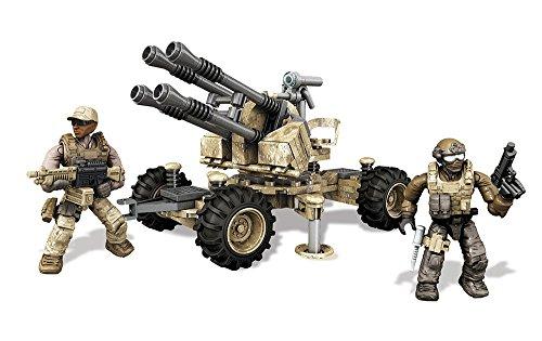 Mattel Mega Bloks DKX53 - Konstruktionsspielzeug, Call of Duty Anti-Aircraft Vehicle