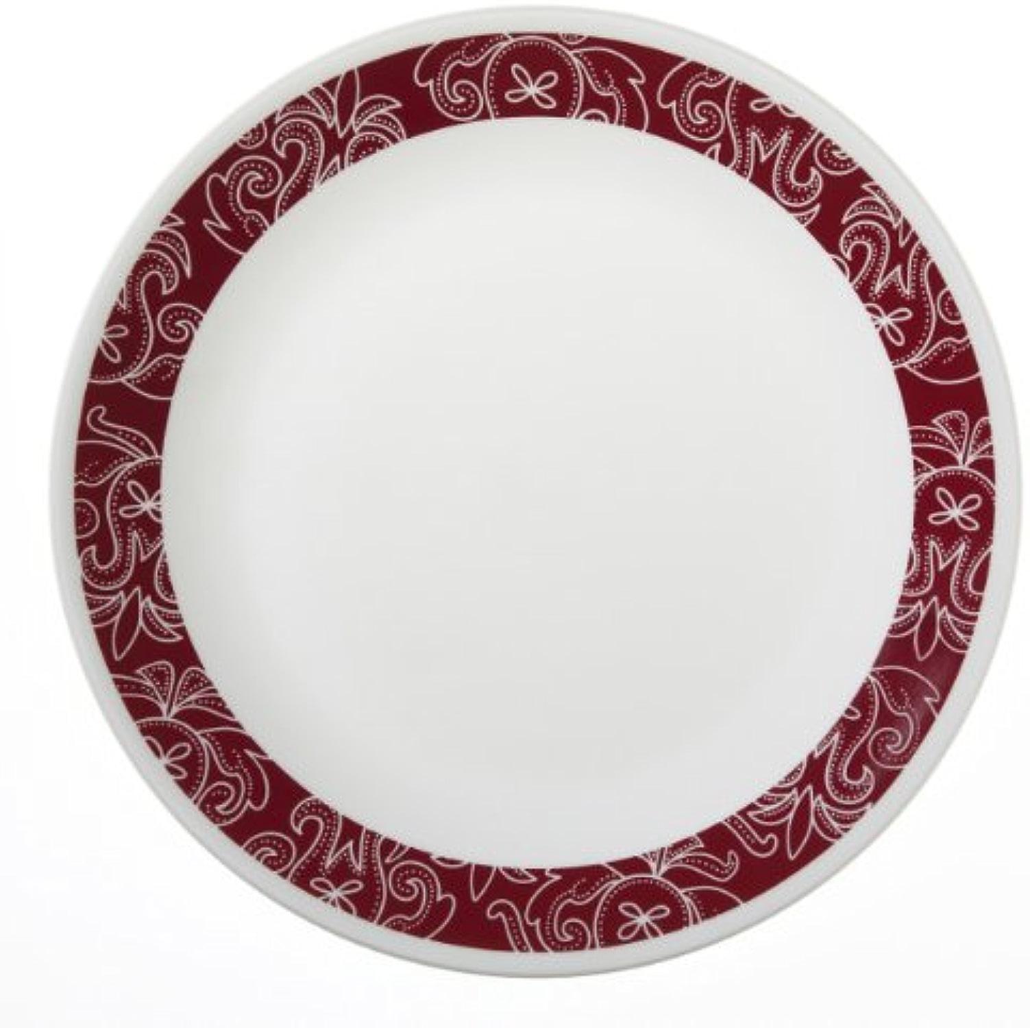 Corelle Livingware 6-Piece Dinner Plate Set, Bandhani by CORELLE