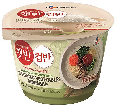 [ 229g ] CJ Minuten-Reis mit Gemüse BIBIMBAP/Fertiggericht für die Mikrowelle