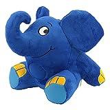 Ansmann 1800-0014 - Elefante de peluche con luz nocturna y nana para dormir [Importado de Alemania]