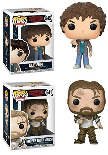 Funko POP! Stranger Things: Eleven + Hopper