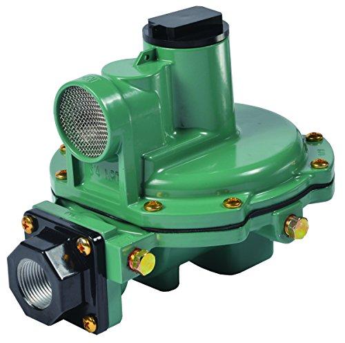 Emerson-Fisher LP-Gas Equipment R652-DFF Second Stage Regulator, Back Mount, 3/4' x 3/4' NPT, 9'-13' W.C. Spring