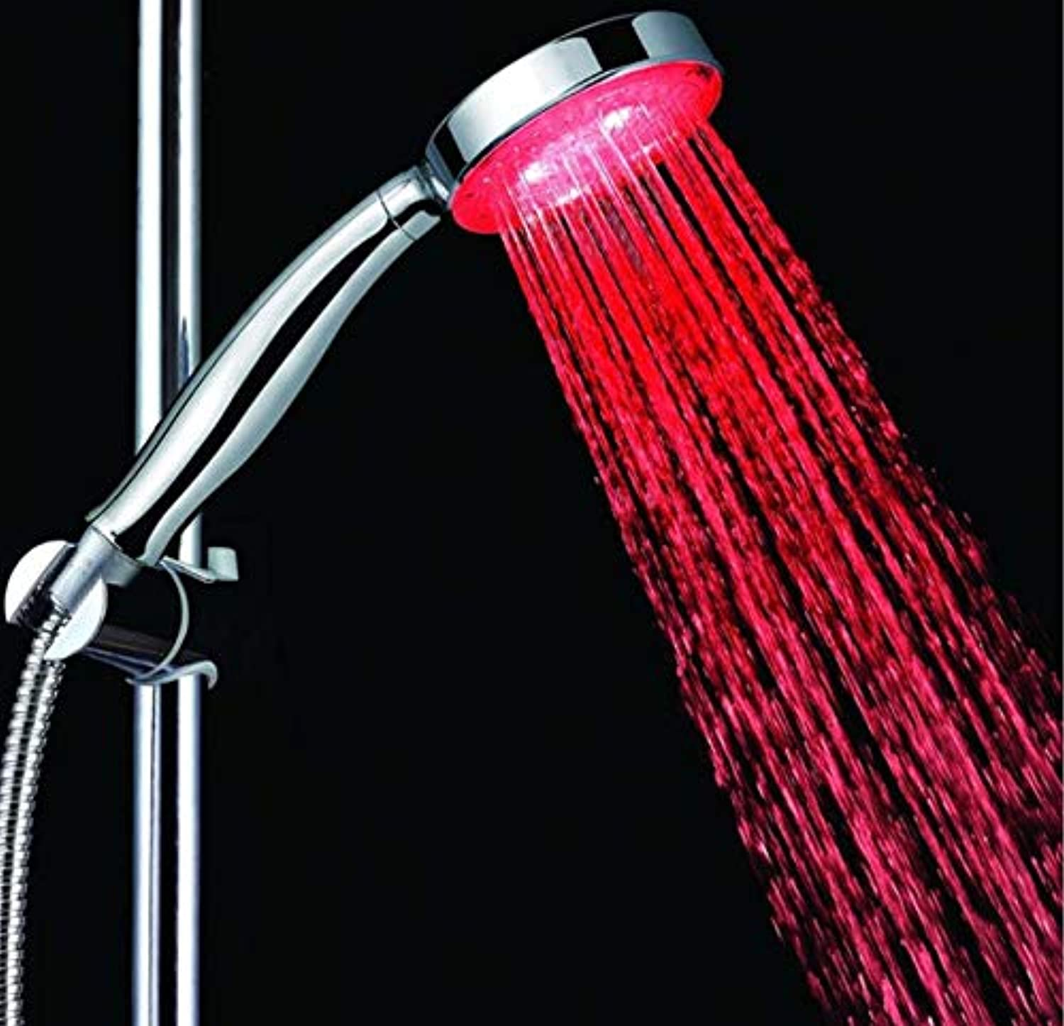 ROKTONG Taps Taps Taps Shower Self-Powered Hand-Held Circular Shower Feels Good Shower Single Red Shower