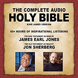 top rated Complete Audio Bible – KJV: New Testament reading by James Earl Jones. old… 2021