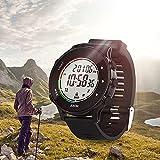 Orologio sportivo digitale per uomo donna, schermo a LED, orologio da polso digitale con display ultrasottile super grandangolare, impermeabile 5ATM con luminosità, consumo calorico, monitoraggio de