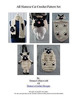 Crochet Cat Purse free pattern | 337x260