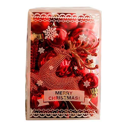 Regalos De Colgantes De Navidad Bolas De Navidad Bolas De Navidad Decoración Bolas De Árbol De Navidad 30PcsBola De Navidad Dorada Decoración De Navidad Colgante De Árbol De Navidad ColganteFie