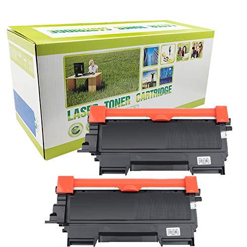 Cartucho de tóner TN-2010 TN-11J compatible con Brother HL-2130 HL-2132 DCP-7055 DCP-7057, 2 unidades, color negro
