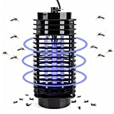 Bug Zapper Outdoor,Plug in Insect Zapper,Electronics Mosquito Killer Trap Moth Fly Wasp Led