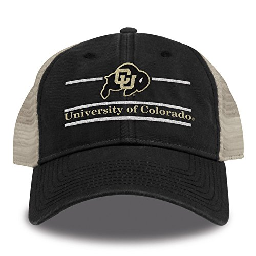 The Game One Size Fits Most Split Bar Design Trucker Mesh Hat, Black, Adjustable