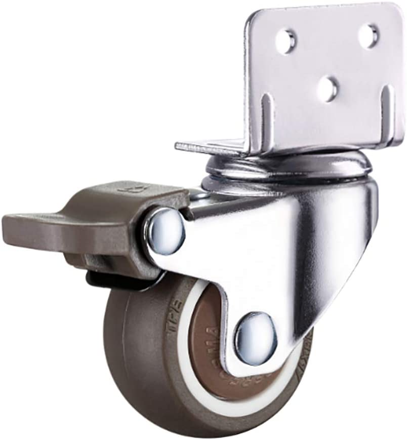 ZYFA Swivel 4 Same day shipping years warranty Casters with Brake Plate Wheels Replace Top The