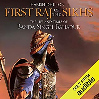 First Raj of the Sikhs cover art