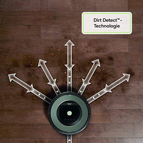iRobot Roomba 865 Staubsaugroboter (für Tierhaare) grau - 5