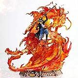 One Piece Gk Statue Luffy Brother Sabo Jefe De Personal del Ejército Revolucionario Resina Figura De Acción Colección Modelo Juguetes