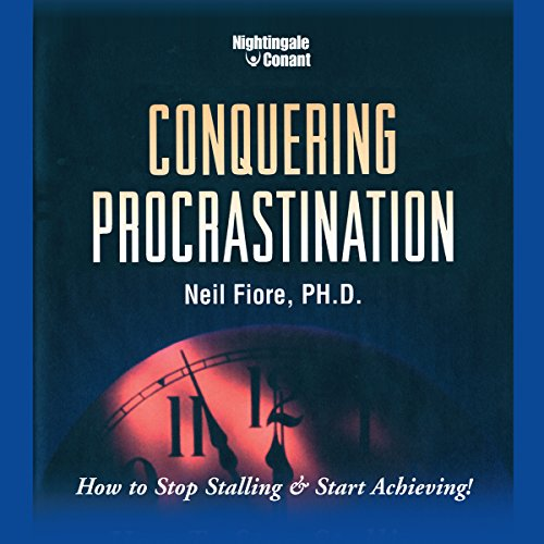 Conquering Procrastination audiobook cover art