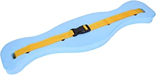 Yosoo Swim Water Belt, Adjustable Floating Safety Belt EVA Fish Shaped Waistband Swim Safety Float Board Tool Swimming Lumbar Support Tackle Teaching Train Equipment for Adult Children Light Blue
