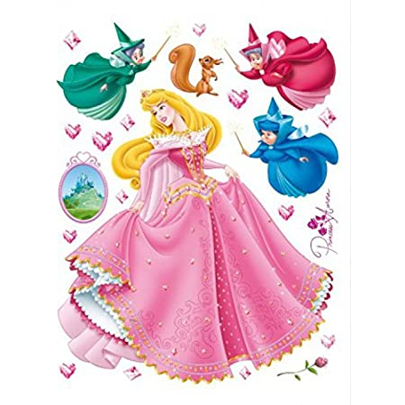 Wall Tattoo Little Princess with Shoes Star W5090
