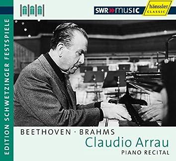 Piano Recital: Arrau, Claudio - Beethoven, L. Van / Brahms, J. (Schwetzinger Festspiele Edition, 1963, 1973)