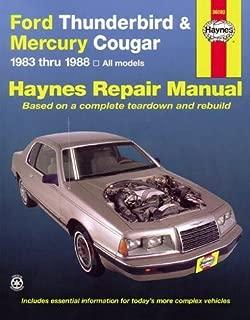 Ford Thunderbird and Mercury Cougar, 1983-1988 (Haynes Manuals)
