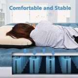 Luftbett Deeplee Aufblasbare Luftmatratze 2 Person, Gästebett Doppelbett Inflatable Air Mattress mit elektrischer USB Pumpe für Zuhause, Gast, Outdoor Camping, 203 x 152 x 23 cm (80