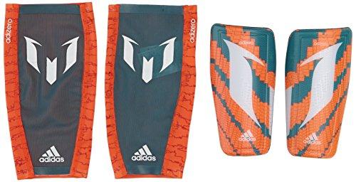 adidas Schienbeinschoner Messi 10, Solar Orange/Power Teal f14/White, XL, M38640