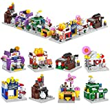 ZornRC Building Blocks Building Kit - 8-In-1 City Shop Building House Toys Sets, Creative Store Building Blocks for Kids 6-12 Boys Girls Birthday Gifts - 822 Pieces