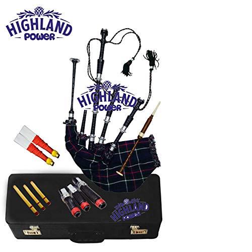 Schottischer Great Highland Dudelsack von Highlandpower aus Palisander Erfahrungen & Preisvergleich
