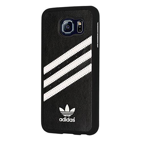 adidas Basics - Cover per Galaxy S6 - Nero/Bianco
