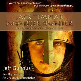 Jack Templar Monster Hunter audiobook cover art