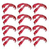 Yardwe 12pcs Trongs Prep Finger Prep Eating Trongs Guards for Eating/Snacking - Finger Food Utensil Finger Glove Finger Cover Finger Protector for Home Kitchen Restaurant