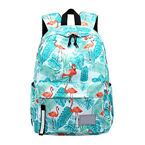 Meisje Middelbare School Schooltas School Rugzak, Oxford doek waterdicht grote capaciteit jeugd casual sport rugzak lichtgewicht handtas, geschikt voor 14 inch laptop