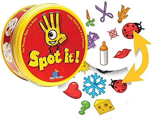 RVM Toys Sequence Forming Card Spot It Game Original Edition   Matching Game   Find It for Kids and Adults Multi Color