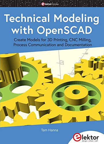 Technical Modeling with OpenSCAD Front Cover