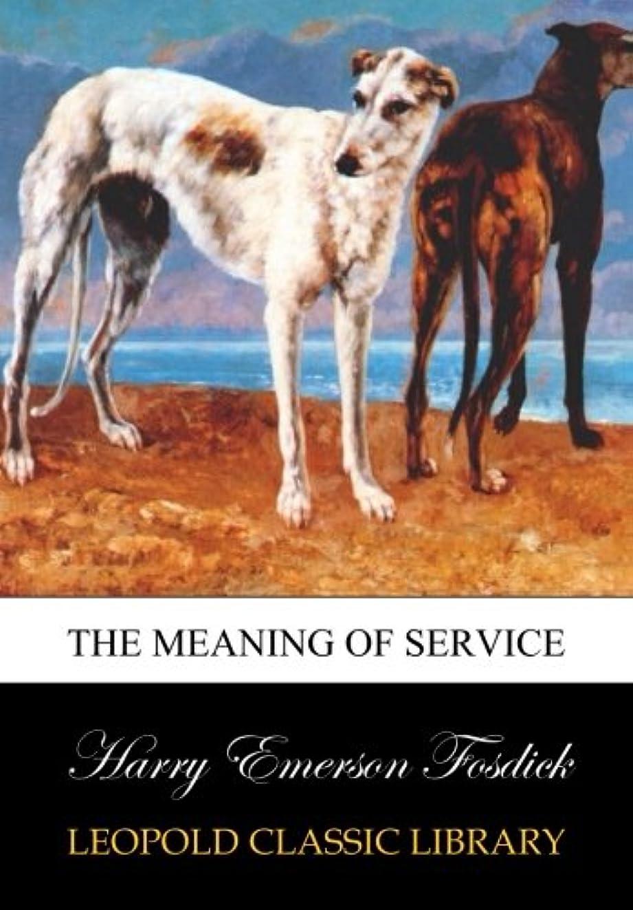 議題与える天井The meaning of service