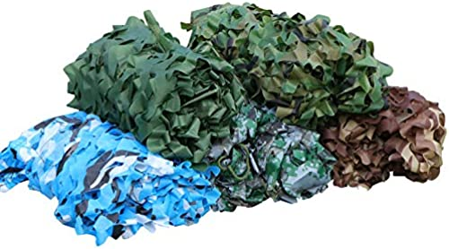 XLCZ Couverture de Filet de Camouflage écran Solaire de Camping Toile d'ombrage Tissu en Tissu Oxford, utilisée pour la Couverture de Tente de Camping de Chasse dans la Jungle