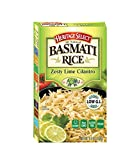 Heritage Select Premium Basmati Rice - Zesty Lime Cilantro 6.5oz Box (6-Pack) - Flavored Rice Pilaf Side Dish | Non-GMO, Vegan, Gluten Free, Kosher, & Low Glycemic Index | Ready to Heat!