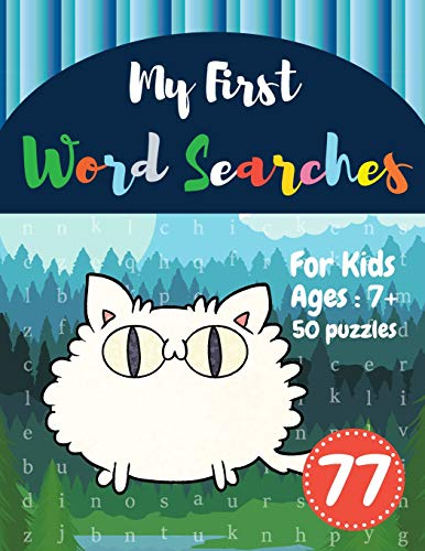 My First Word Searches: 50 Large Print Word Search Puzzles : word search for 8 year olds activity wo
