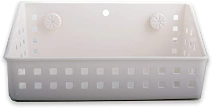 Shower tray, Washroom and Kitchen basket with Suction Cup Holders Bathroom StorageShelf