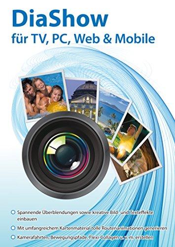 DiaShow Gestalter für TV, PC, Web & Mobile inklusive Bildbearbeitung für Windows 10/8.1/8/7/Vista und XP