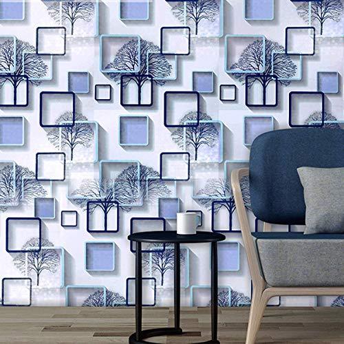 HS-STORE's Winter Tree Design Self Adhesive Wallpaper Waterproof Vinyl Peel and Stick Wall Sticker...