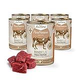 AniForte® PureNature easyBarf Single Protein Rind Pur 400g 100% Fleisch Hundefutter- Naturprodukt für Hunde (6x400g)