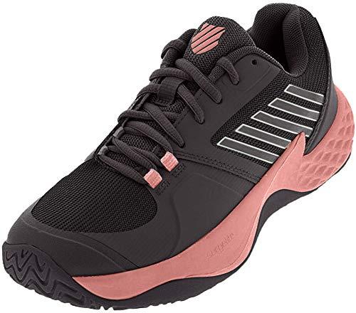 K-Swiss Aero Court Womens Tennis Shoe (White/Coral Blush)