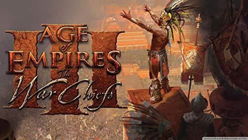 Age of Empires Los Jefes De Guerra Puzzle 1000 Piezas De Rompecabezas Creativo Desafío Intelectual, Juegos para Adultos, Niños, Adolescentes,Decoración del Hogar, 75 X 50Cm