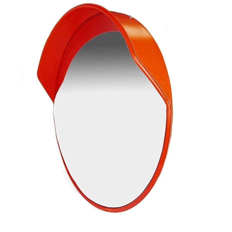 複数バウンドメンターカーブミラー 車線の屋外のガレージの狭い道の盲点のための安全凸面鏡のPCの飛散防止の防水耐久財 RGJ11-10 (Size : 80cm)