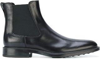 Tod's Mode De Homme XXM45A00P20D90B999 Noir Cuir Bottines | Saison Permanent