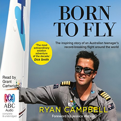 Born to Fly audiobook cover art