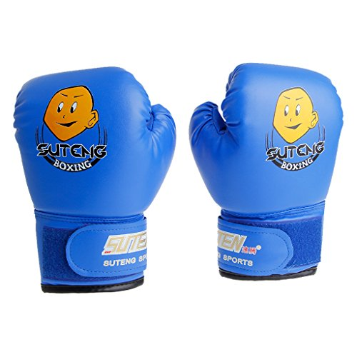 siwetg Kinder Cartoon Boxsack Sparring Boxhandschuhe Trainingskampf Alter 3-12