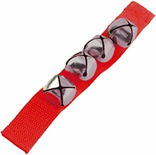 Wrist Bells - Includes Velcro Closure with 4 bells! (Red)