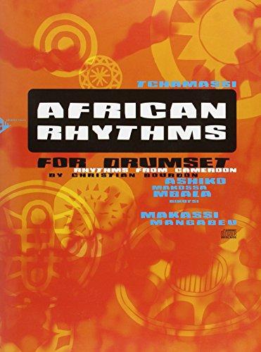 AFRICAN RHYTHMS FOR DRUMSET BATTERIE +CD